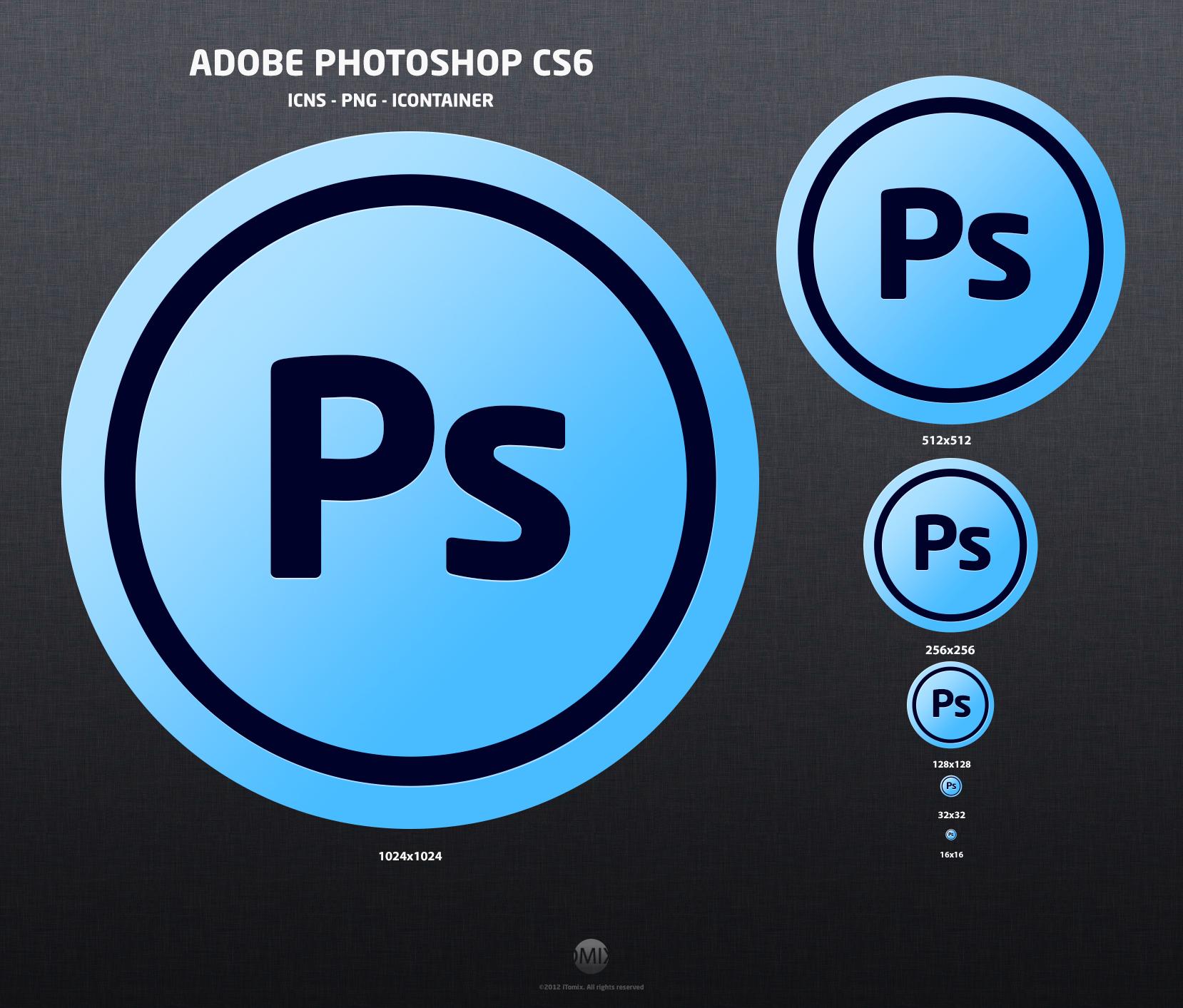 Adobe photoshop cs6 icon by itomix