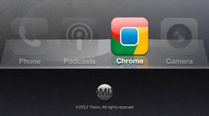 Chrome Icon for iOS