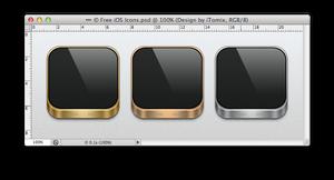 Free iOS Icons (.PSD)
