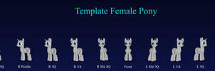 Template Female Pony v2.8