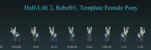 Rebel01 Female Pony v2.8