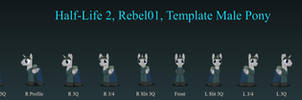 Rebel01 Male Pony v2.7