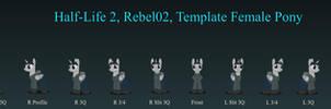 Rebel02 Female Pony v2.8