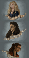 The Princess, the warrior and the mechanic by RiTTa1310