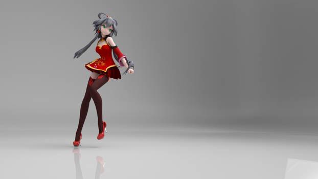 TDA+China+Dress+Red+Luo+Tianyi+V1.0