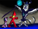 Twilight Sparkle and Cyber-Shark vs the Storm King