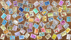 82 Pony Stamps + Wallpaper