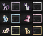Mane6 - Select Your Weapon : 6 Wallpapers
