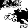 Grunge Flower Mask Brushes by Pandaboxes