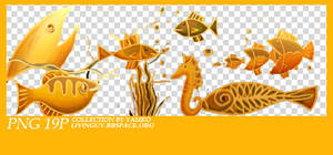 0920 yellow fish png6P