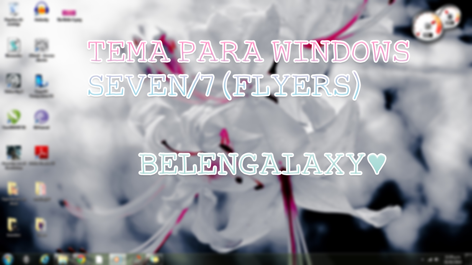Tema Para Windows 7 By. Belen Galaxy by BelenGalaxy