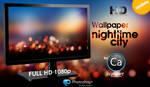 Wallpaper Nighttime City