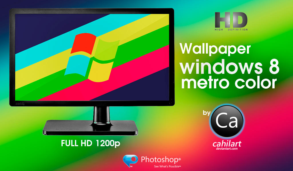 Windows 8 Metro Color by CaHilART