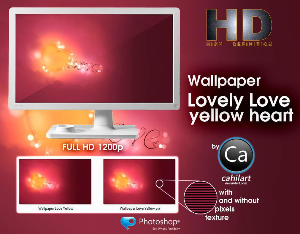 Wallpaper Lovely Love Y HD by CaHilART