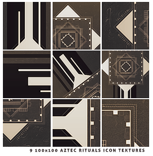 Icon Textures #1   Aztec Rituals by itsmorphine by itsmorphine