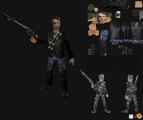Terminator on PlayStation 1