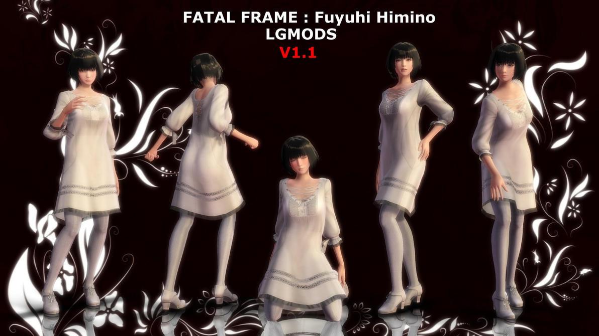 [MMD DL] FATAL FRAME 5 : Fuyuhi Himino (V1.1) by LGMODS on