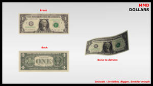 [MMD DL] DOLLARS (Download) by LGMODS