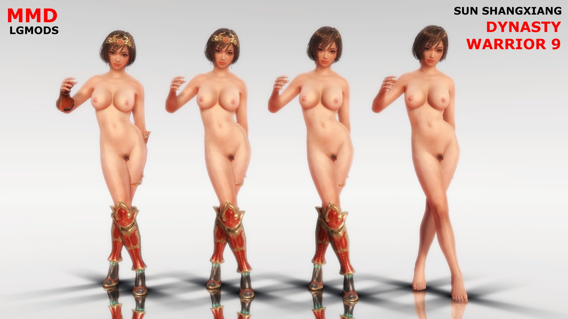 [MMD DL] DW9 : SUN SHANGXIANG NAKED