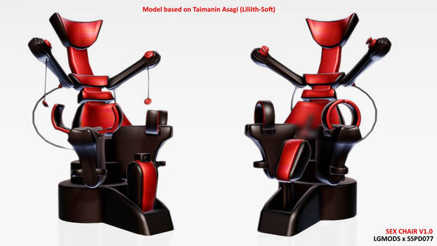 [MMD DL] Sex Chair (NSFW) by LGMODS