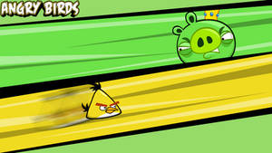 Angry Birds wallpaper Yellow