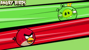 Angry Birds wallpaper Red by vyndo