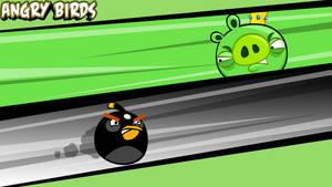 Angry Birds Wallpaper Black