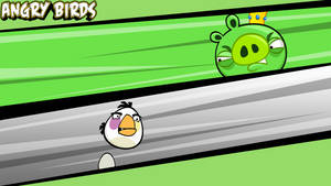 Angry Birds Wallpaper White
