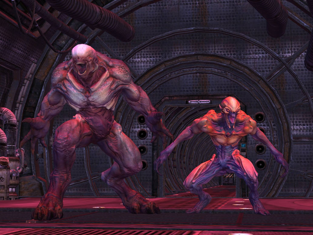 Imp And Hell Knight From Doom For Xps By Jorn K Nightmane On