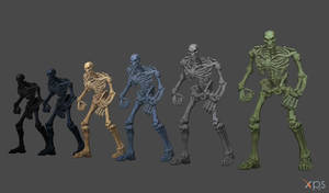 Skeletons (From Darksiders 3) for XNA/XPS!