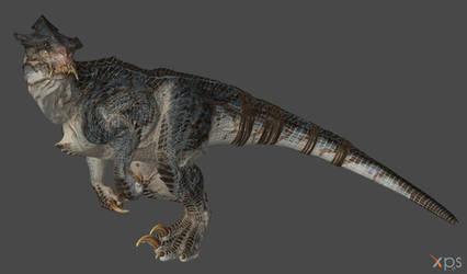 Carnosaur (From Total War Warhammer 2) for XPS/XNA