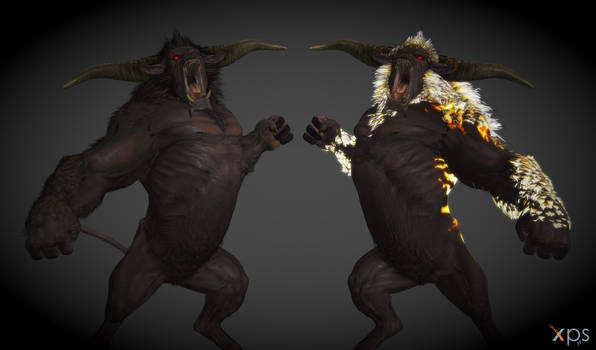 Rajang (From MHWI) V2 for XPS/XNA! (With Meshmod)