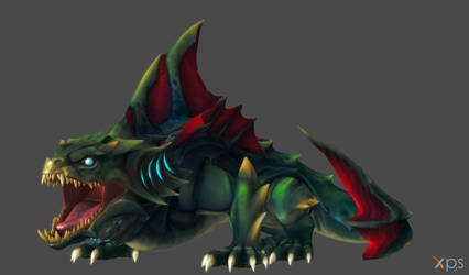 Drask (From Dauntless) for XPS/XNA!!!