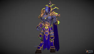 Archimonde (From Warcraft 3 Reforged) for XPS/XNA!