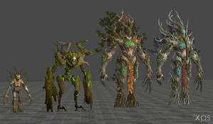 Tree Creatures (From TWW2) for XPS/XNA
