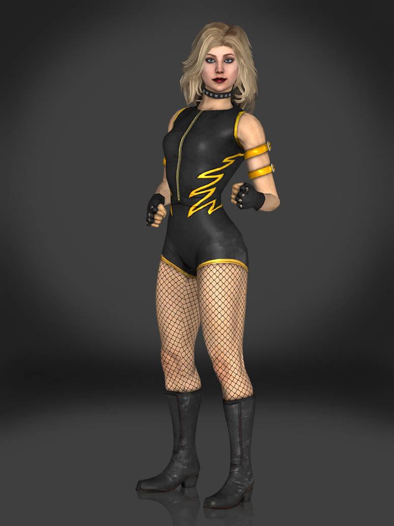I2: Black Canary - v2 by AnubisDHL on DeviantArt |Injustice Black Canary Drawing