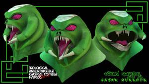 uUzbn Heads Lightwave 3Dmodel by comicsINC