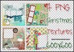 4 Christmas Textures