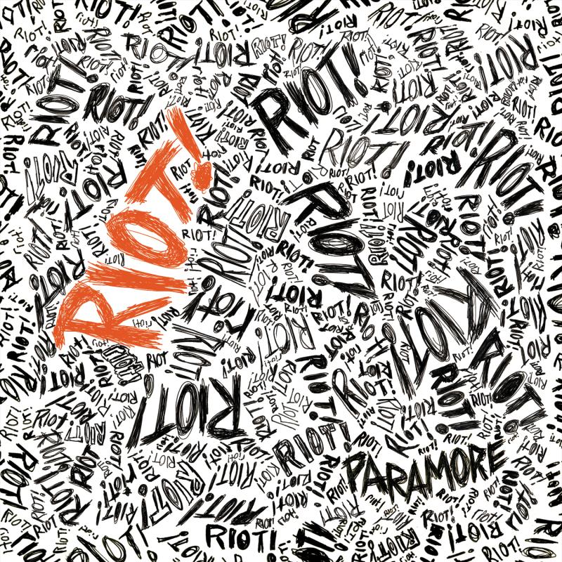 Paramore's Riot Album Font by deadbirdsfly on DeviantArt