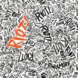 Paramore's Riot Album Font