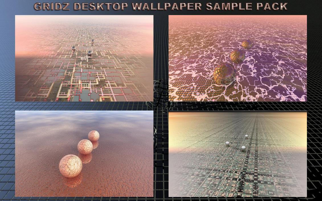 GRIDZ Desktop Wallpaper Sample Pack by Ton-K300