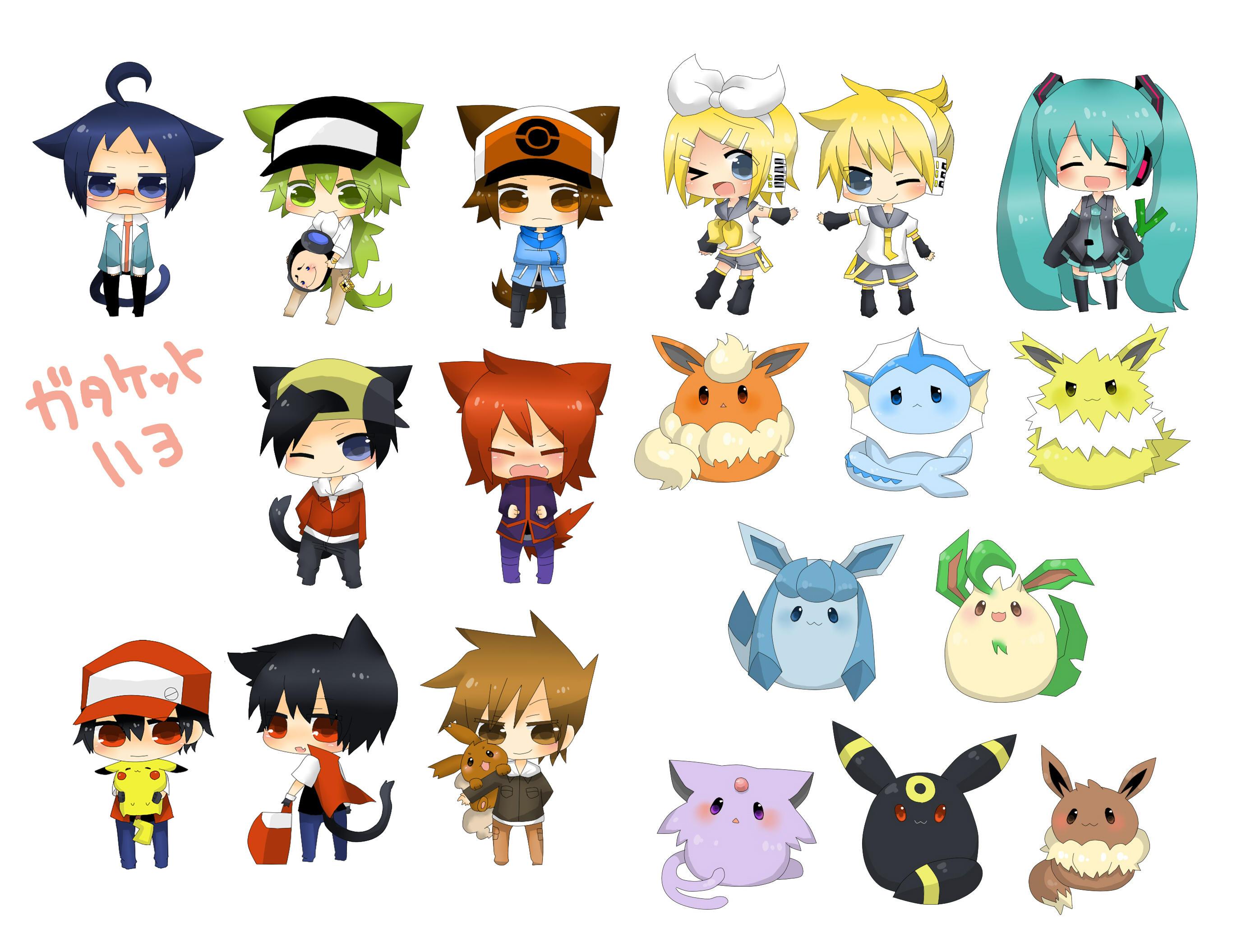 Random Chibi Render Pack By MegaBleachy