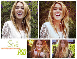 PSD - SMILE by myseleland