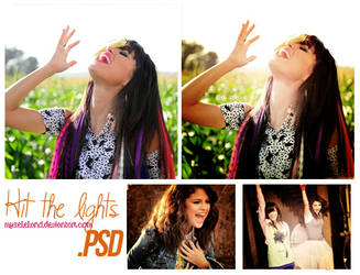 PSD - Hit the lights by myseleland