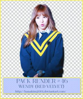 Pack Render #46 Wendy (Red Velvet)