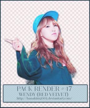 Pack Render #47 Wendy (Red Velvet)