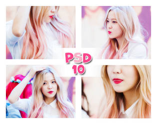 PSD Coloring #10: Pink by HanaKim2001