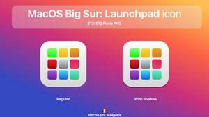 MacOS Big Sur Launchpad icon
