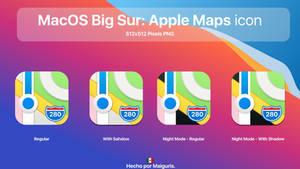 MacOS Big Sur: New Apple Maps Icon