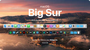 macOS BigSur For RocketDock